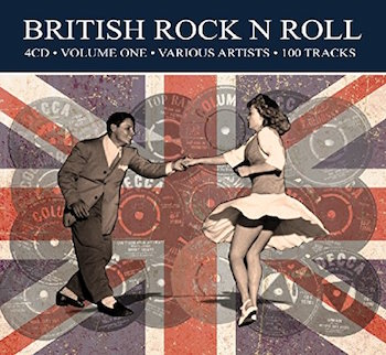 V.A. - Britsch Rock'n'Roll Vol 1 ( 4 cd's )